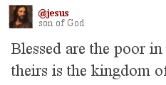 If Jesus used twitter