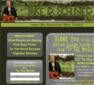 Mike R Schuster website
