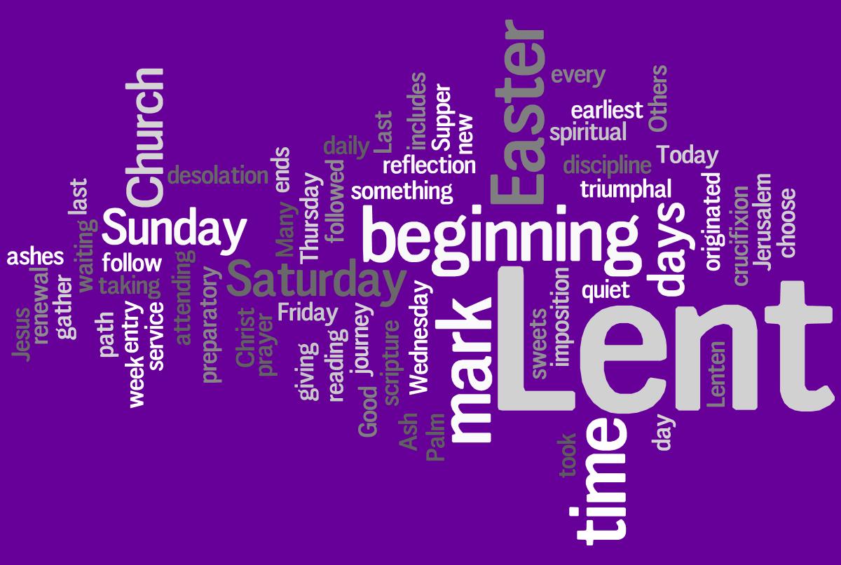 Lent Calendar Kids