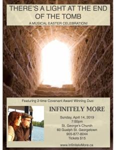 Poster JPEG - St. Georege's, Georgetown - Easter 2019